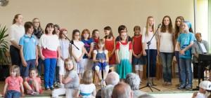 Kinderchor Auftritt 2013